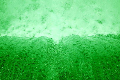 Photograph - Green Waterfall by Scott Sanders