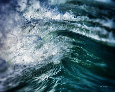 Photograph - Green Wave by John Pagliuca