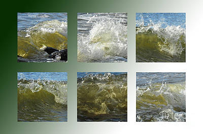 Photograph - Green Waves by Randi Grace Nilsberg