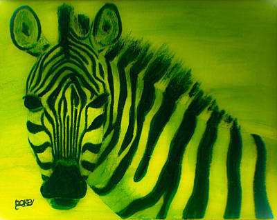 Green With Envy Art Print by Scott Dokey