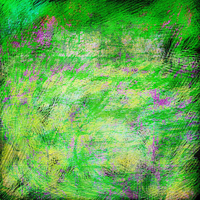 Green With Envy Series II Art Print by Marianne Campolongo