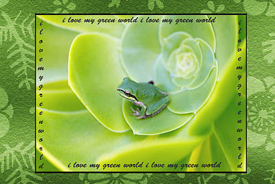Photograph - Green World by Patricia Dennis