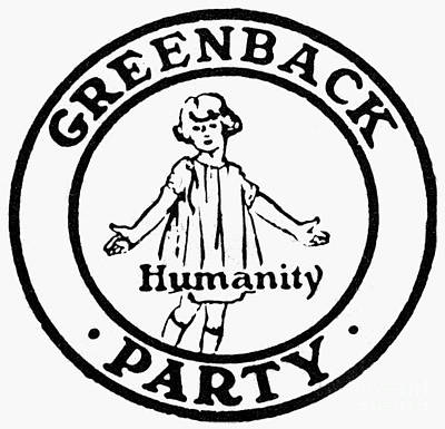 Photograph - Greenback Party by Granger