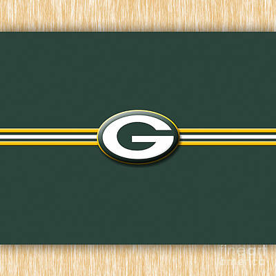 Mixed Media - Greenbay Packers by Marvin Blaine