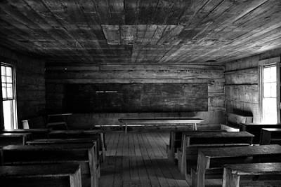 Old School House Photograph - Greenbrier School Circa 1882 by David Lee Thompson