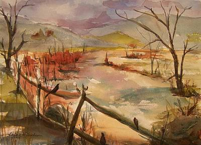 Painting - Greeneville Marsh by Barbara McGeachen