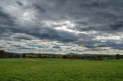 Photograph - Greenhill Vineyards Sky by Cara Moulds