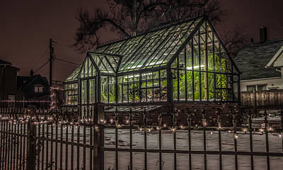 Augustana Photograph - Greenhouse In Winter #2 by Ray Congrove