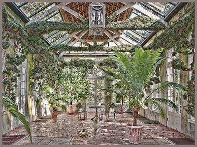 Greenhouse Splendor Art Print by Elin Mastrangelo