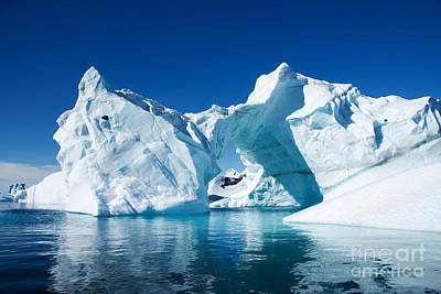 Greenland Iceberg Art Print by Boon Mee