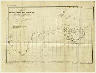 1835 Drawing - Greenland Iceland 1835 Et 1836 by Litz Collection