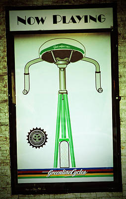 Photograph - Greenline Cycle by Holly Blunkall
