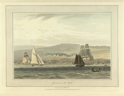Greenock On The River Clyde Art Print
