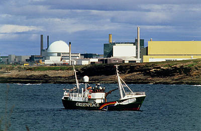 Greenpeace Ship 'moby Dick' Art Print