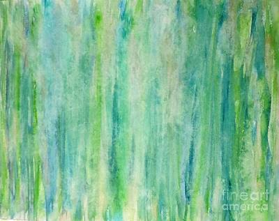 Painting - Greens by Laura Hamill