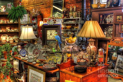 Baseball Memorabilia Photograph - Greensboro Antique Mall Best Of The Best by Reid Callaway