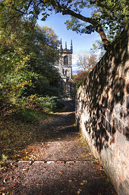 Photograph - Greenside Parish Church by Ross G Strachan