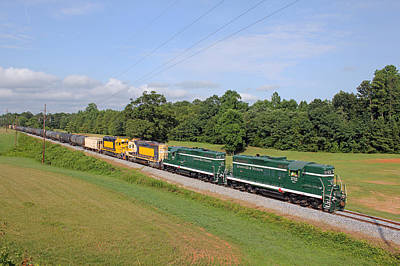 Photograph - Greenville Western Railway 07.20.2014 by Joseph C Hinson Photography