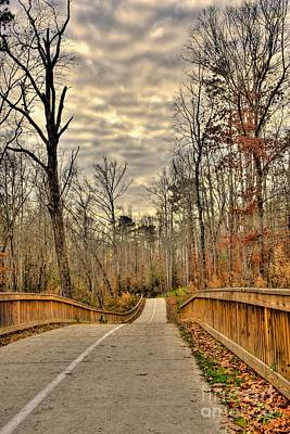 Photograph - Greenway Path by Kim Wilson