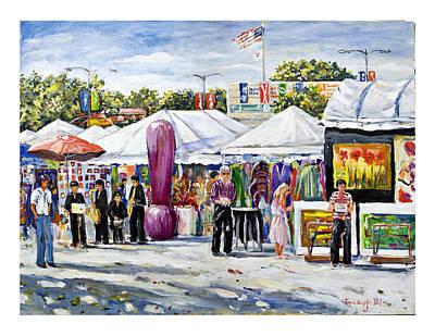 Greenwich Art Fair Art Print