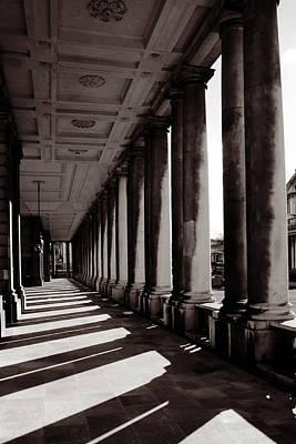 Greenwich Pillars Art Print by Dan Davidson