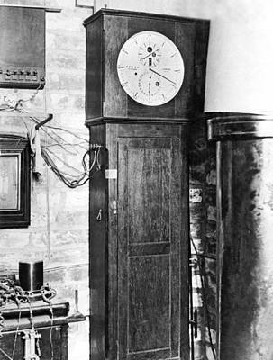 Chronometer Photograph - Greenwich Royal Observatory by Underwood Archives