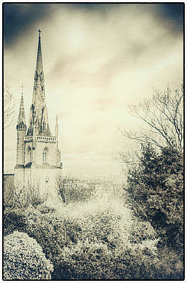 Photograph - Greenwich Spires by Lenny Carter