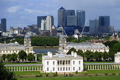 Greenwich View Art Print by Donald Turner
