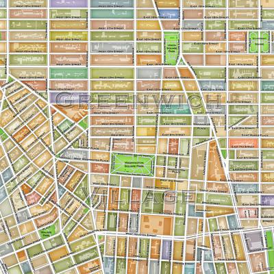Greenwich Village Digital Art - Greenwich Village by Paul Hein