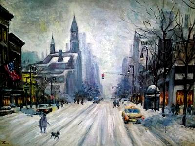Painting - Greenwich Village by Philip Corley