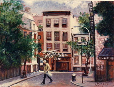 Painting - Greenwich Village by Walter Casaravilla