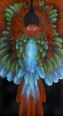 Painting - Greenwing by Lynette Yencho