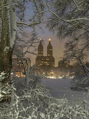 Central Park Photograph - Greeting Card From New York by Raffi  Bashlian