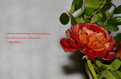 Greeting Of Love Art Print by Sonali Gangane