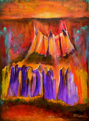 Unity Painting - Greeting The Sun by Stella Maris Jurado