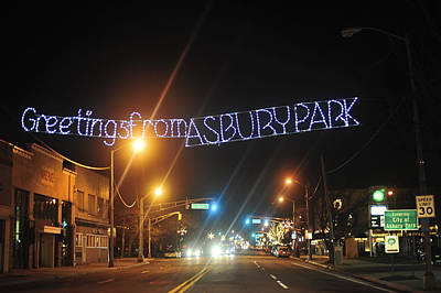 Photograph - Greetings From Asbury Park by Terry DeLuco