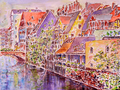 Greetings From Nuremberg Art Print