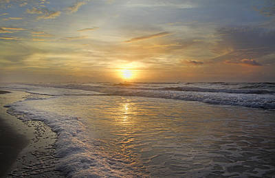 Greetings From Topsail Art Print by Betsy Knapp