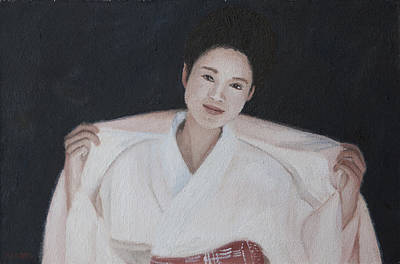 Painting - Greetings by Masami Iida