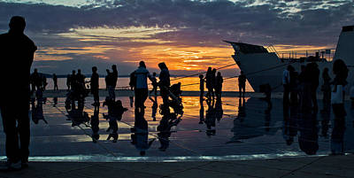 Photograph - Greetings To The Sun In Zadar by Brch Photography