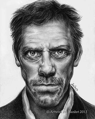 Gregory House Drawing - Gregory House by Blanket Joanna