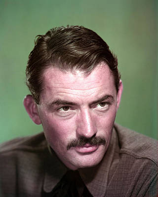 Gunfighter Photograph - Gregory Peck In The Gunfighter  by Silver Screen