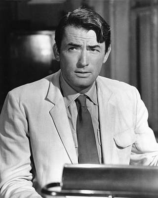 Gregory Photograph - Gregory Peck In The Guns Of Navarone  by Silver Screen