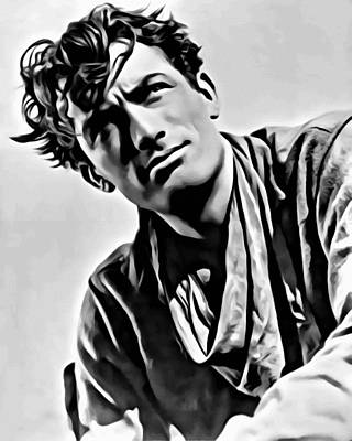 Photograph - Gregory Peck Portrait by Florian Rodarte