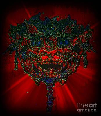 Photograph - Gremlin In Dynamic Color by Kelly Awad