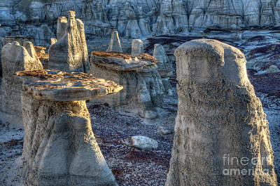 Photograph - Gremlins Bisti/de-na-zin Wilderness by Bob Christopher
