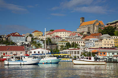 Photograph - Grenada Harbor by Brian Jannsen