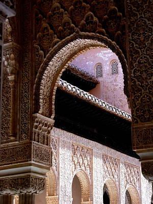 Photograph - Grenada Spain - La Alhambra by Jacqueline M Lewis