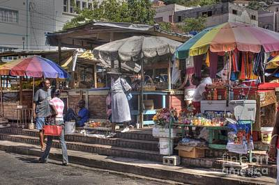 Photograph - Grenada Street Market by David Birchall
