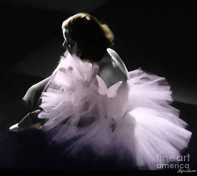 Photograph - Greta Garbo Ballerina by Lyric Lucas